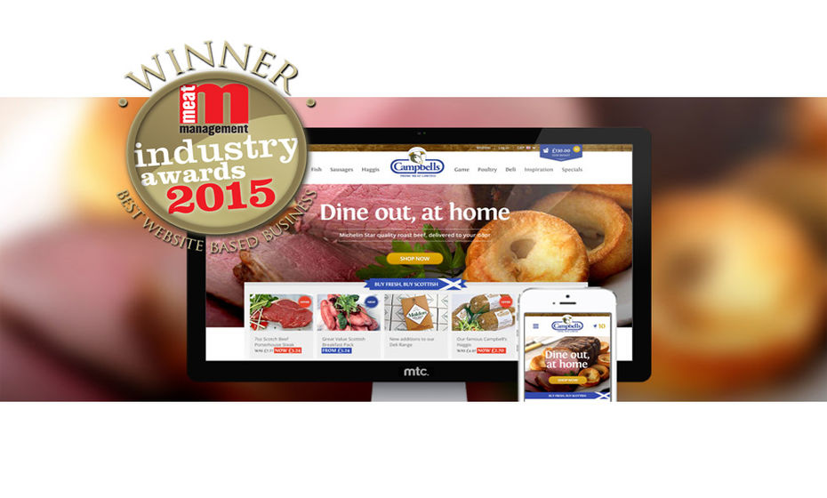 Campbells Prime Meat have a Winning Website