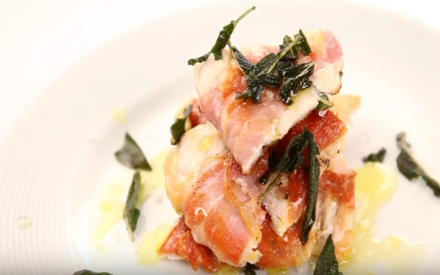 Nick's Chicken Saltimbocca