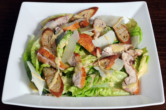 Nick Nairn's Ceasar Salad with Crispy Chicken Thighs Recipe