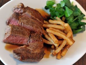 Nick Nairn's Perfect Steak and Chips Recipe