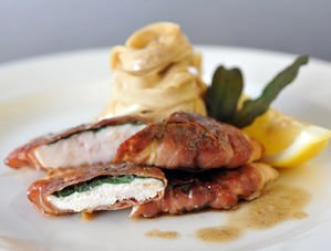 Nick Nairn's Chicken Saltimbocca with Crispy Sage Leaves