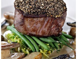Nick Nairn's Peppered Fillet of Beef with Whisky Sauce