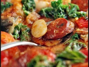 Nick Nairn's Chorizo & Butter Bean Stew with Kale