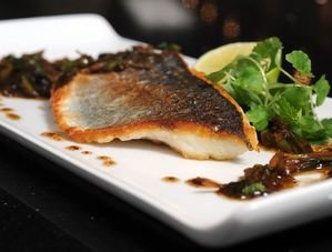 Nick Nairn's Seabass with Soy & Ginger Recipe