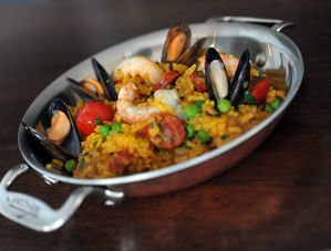 Nick Nairn's Classic Paella with Shellfish Recipe
