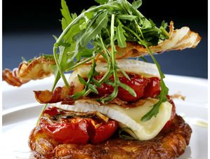 Nick Nairn's Bacon, Tomato & Brie Feast