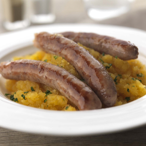 View the Sausages rare breed pork sausages online at Campbells Meat, an award winning online butchers