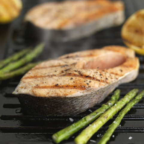Fresh Salmon Steaks Bone In Online