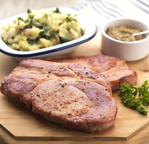View the Bacon smoked bacon steaks online at Campbells Meat, an award winning online butchers