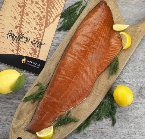 View the Smoked Fish nick nairn oak smoked salmon online at Campbells Meat, an award winning online butchers