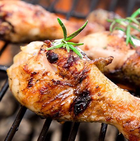 Chicken Barbecue Meat Box