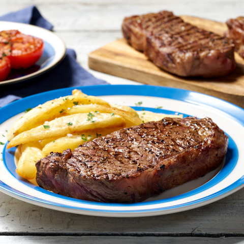 View the Beef Steak scotch beef sirloin steak special trim online at Campbells Meat, an award winning online butchers