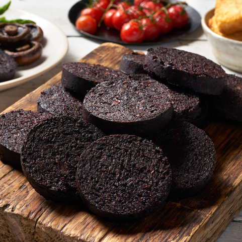 View the Black Pudding stornoway black pudding roll online at Campbells Meat, an award winning online butchers