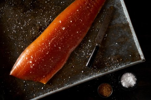 View the Fish campbells & co smoked salmon sliced side online at Campbells Meat, an award winning online butchers