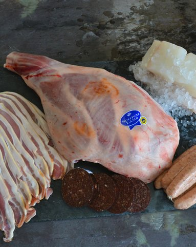 View the Easter easter hamper with lamb or beef online at Campbells Meat, an award winning online butchers