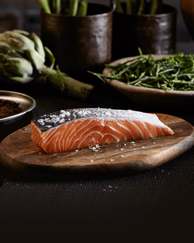 View the Oily Fish loch duart salmon fillet skin on online at Campbells Meat, an award winning online butchers