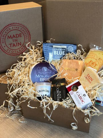 View the Christmas Hampers highland fine cheese gift set online at Campbells Meat, an award winning online butchers