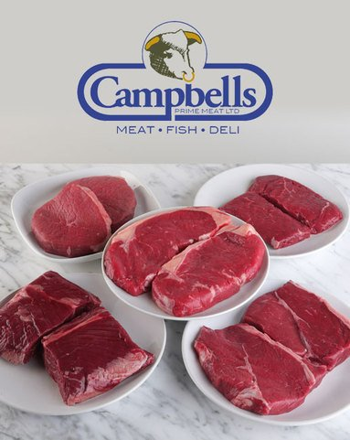 View the Meat Boxes premium scotch beef steak box online at Campbells Meat, an award winning online butchers