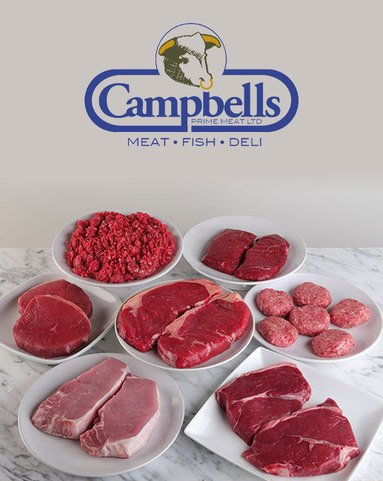 View the Meat Boxes new deluxe steak meat box online at Campbells Meat, an award winning online butchers