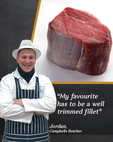 View the Beef Steak jordan's scotch beef fillet steak special trim twin pack online at Campbells Meat, an award winning online butchers