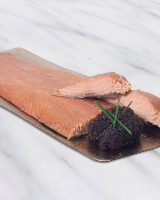 Hot Smoked Salmon Whole Side