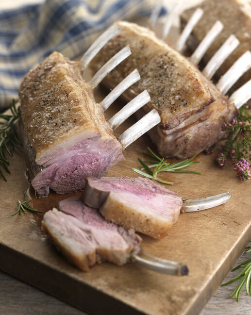 Buy Mey Selections French Trimmed Rack Of Lamb | Campbells ...