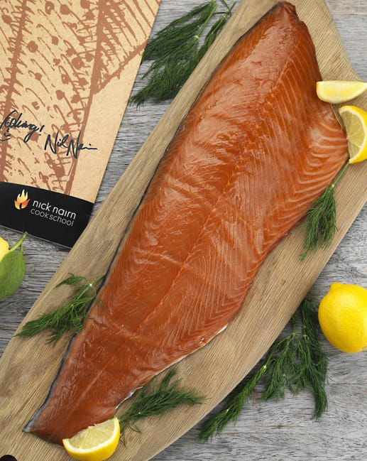 Nick Nairn Oak Smoked Salmon