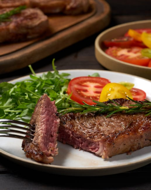 Scotch Beef Sirloin Steak Larder Trim