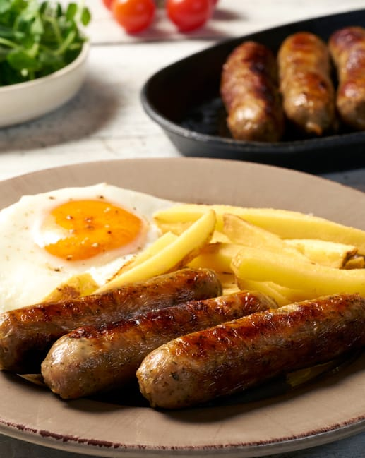 Pork And Herb Sausages