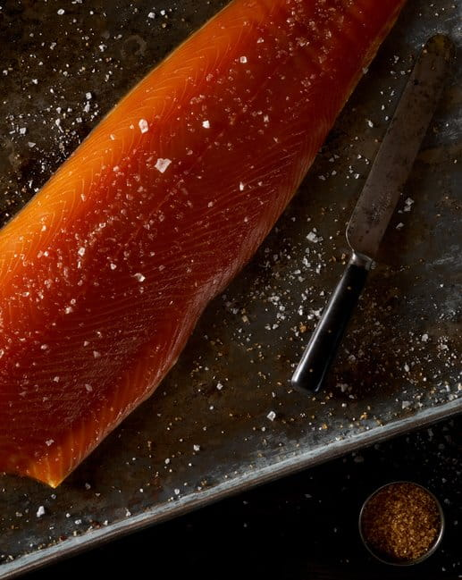 CAMPBELLS & Co Smoked Salmon Whole side - sliced