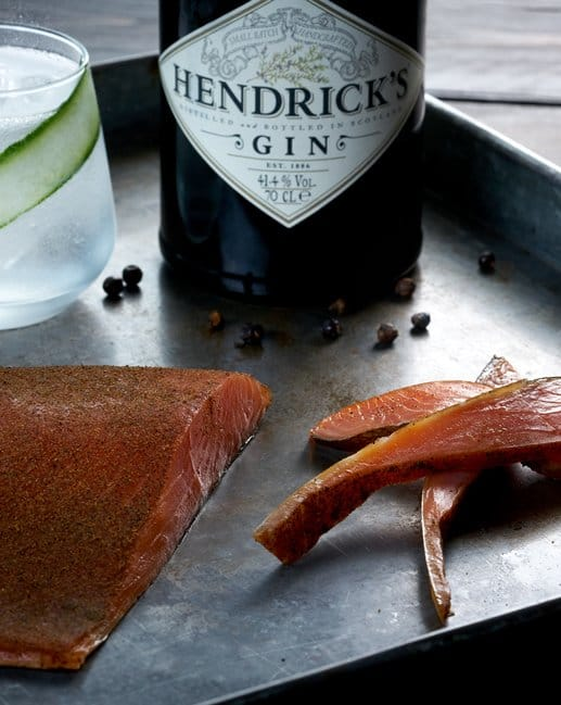 CAMPBELLS & Co Hendrick's Gin Smoked Salmon 250g Pack
