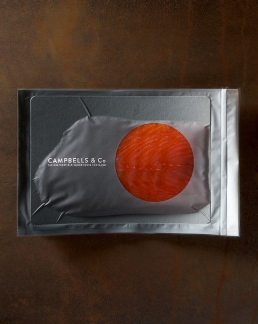 CAMPBELLS & Co Spirits Smoked Salmon Selection Box