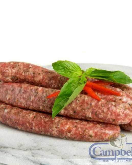 Pork Haggis And Herb Sausages