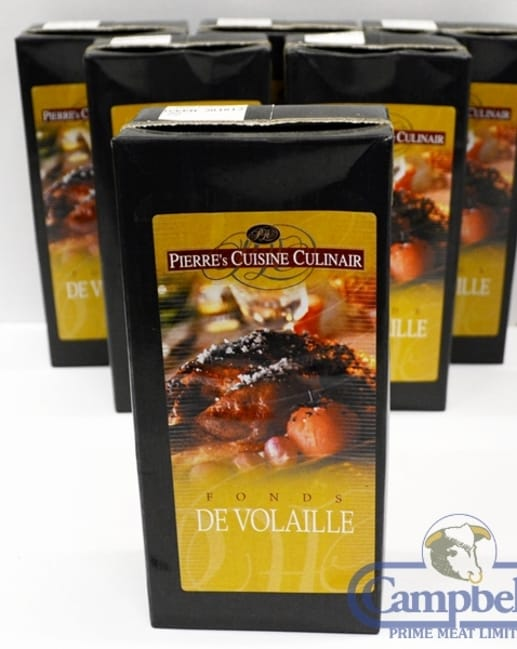 Pierre's Cuisine Culinaire Poultry Stock