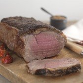 View the Beef Roasting Joints scotch beef striploin online at Campbells Meat, an award winning online butchers