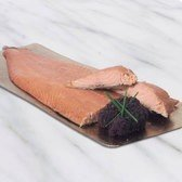 View the Smoked Fish hot smoked salmon whole side online at Campbells Meat, an award winning online butchers