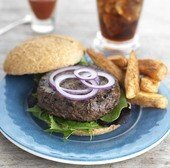 Savoury Onion Burger