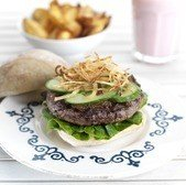 View the Burgers heatherfield burger online at Campbells Meat, an award winning online butchers