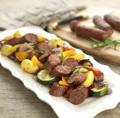 View the Sausages campbells family recipe beef sausages online at Campbells Meat, an award winning online butchers