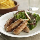View the Sausages pork and apple sausages online at Campbells Meat, an award winning online butchers