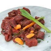 View the Venison diced scottish wild venison haunch online at Campbells Meat, an award winning online butchers