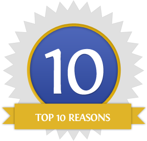 Top 10 Reasons Icon